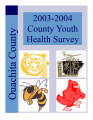 2003-2004 Ouachita County youth health survey