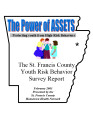 2001-2002 St. Francis County county youth risk health survey